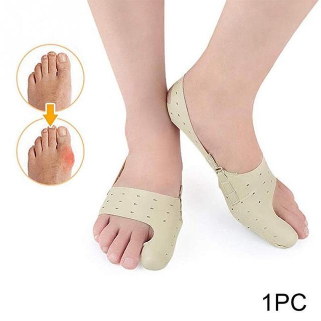 Corrector de juanete elástico para el cuidado de los pies, separador de dedos de los pies, Corrector ortopédico Hallux Valgus