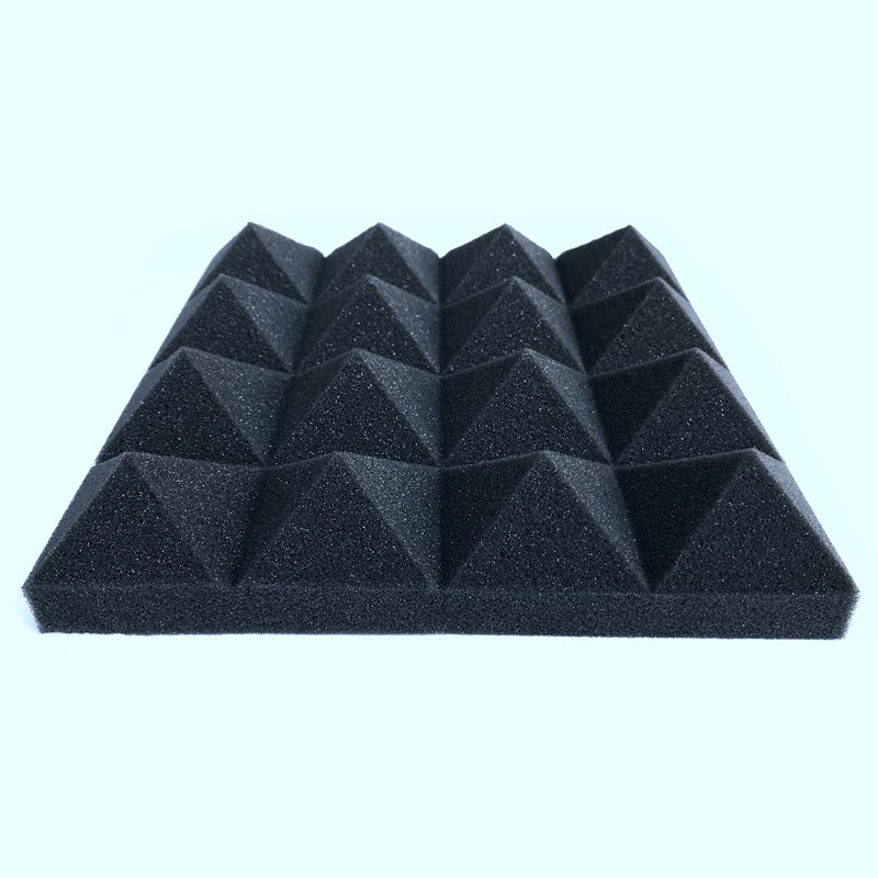 New 12 Pcs -Soundproofing Foam Sound Absorption Pyramid Studio Treatment Wall Panels