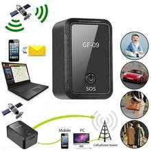 GF-09 мини GPS трекер приложение Дистанционное Управление противоугонное устройство GSM GPRS трекер локатор магнитного голос Запись дистанционны...