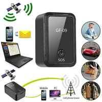GF-09 Mini GPS Tracker APP Control Anti-Theft Device Locator Magnetic Voice Recorder Remote pickup voice recording