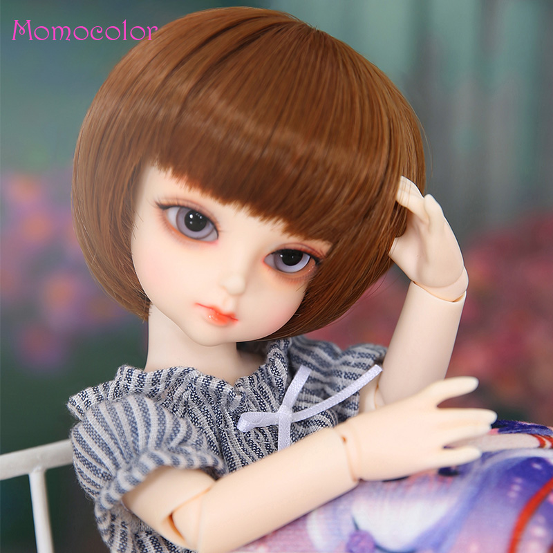 BJD Dolls Momocolor Lucy 26cm 1/6 Adorable Cutie High Quality Resin Figure Girl Toys Best Birthday Gifts 网 红 小 姐姐