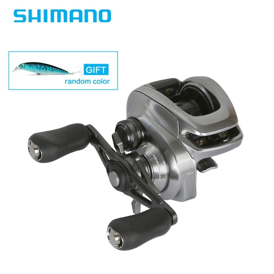2018 Newest Shimano Original BANTAM MGL CORESOILID BODY Low Profile Baitcasting Reel Fishing Reel 8 1BB