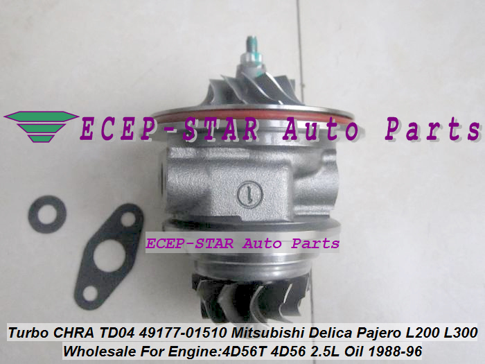 Oil Cool TURBO CHRA Cartridge 49177-01511 49177-01500 49177-01501 MD094740 MD168053 MD106720 MD083538 MD084231 Delica 4D56T 2.5L