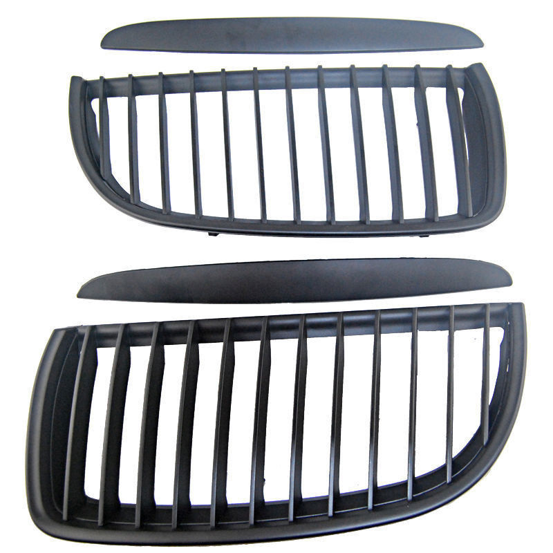 Black Front Kidney Grill Grilles For Bmw 05-08 Sedan Wagon E90 E91 320I-335I 4DrBlack Front Kidney Grill Grilles For Bmw 05-08 Sedan Wagon E90 E91 320I-335I 4Dr