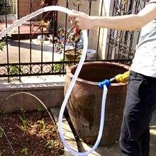 Ağır hizmet tipi kendinden emişli el elektrikli matkap su pompası araba kamyon akaryakıt benzinli dizel su kimyasal sıvı pompası santrifüj