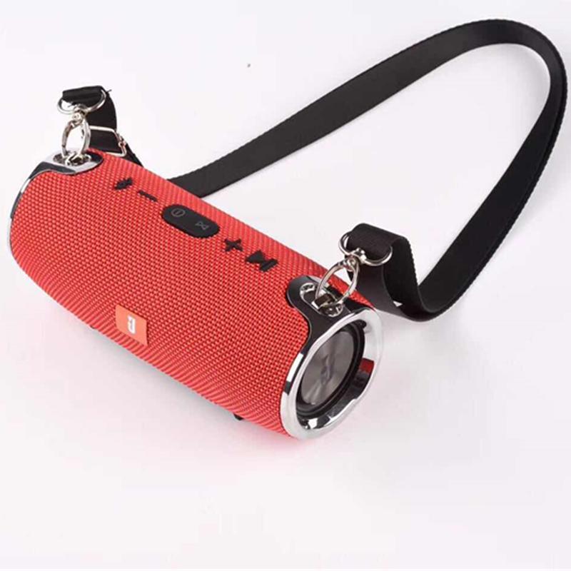War Drum Music Bluetooth Wireless Portable Speakers Satchel Outdoor Sports Card USB Speakers 10W Power Bass Subwoofer