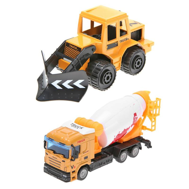 Mini Kids Simulation Alloy Engineering Car Toy Children Truck Vehicle Model Toys Dump Truck Model Diecasts Toy Dropshipping