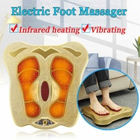 220V Electric Spa Foot Massager Machine Circulation Vibration Blood Booster Infrared Electromagnetic Home Foot Massager Gift