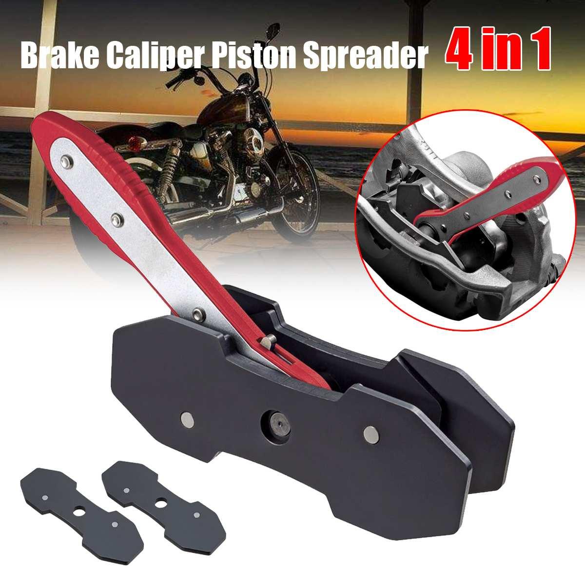 Nouveau 4 en 1 voiture cliquet frein Piston étrier épandeur outil frein étrier presse double Quad séparateur Pad installer outil