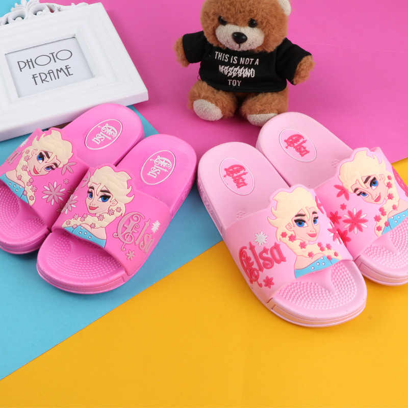 New Children's Beach Shoes Baby girls Slippers Non-slip Breathable Kids Slippers Fashion Summer Children's Home Shoes