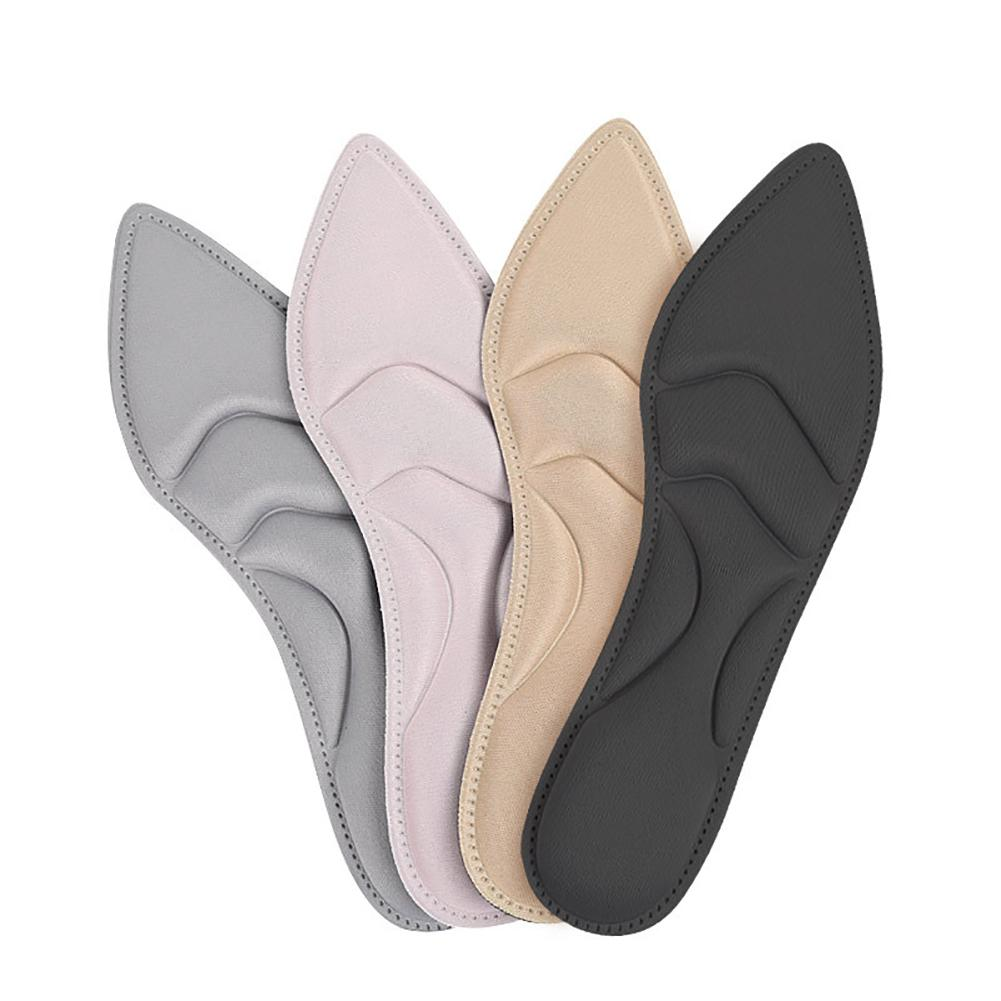 Women Feet Massage Pointed High Heels Breathable Sponge Shoe Insoles Pads Plantillas De Gel Memory Foam Shoes Insoles стельки