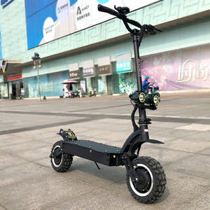 Electric-Scooter Off-Road-Double-Drive Janobike Adults 11inch Powerful Folding 60V