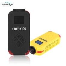Cámara de acción deportiva multifuncional Hawkeye FIREFLY Q6 Airsoft 1080P / 4K HD, color negro y amarillo para drones FPV Racer