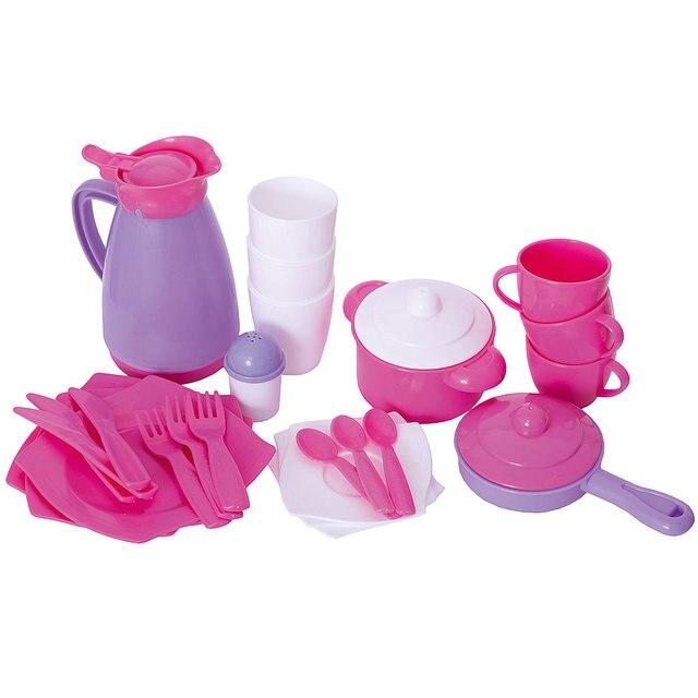 Набор детской посуды Polesie, 31 элемент