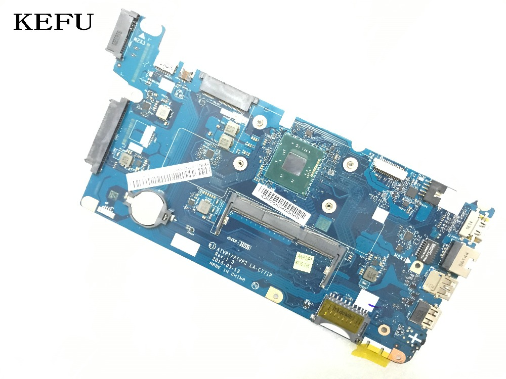 KEFU 100%  NEW HOT IN RUSSIA AIVP1/AIVP2 LA-C771P For LENOVO 100-15IBY LAPTOP MOTHERBOARD WITH N3540 PROCESSOR ON BOARD DDR3LKEFU 100%  NEW HOT IN RUSSIA AIVP1/AIVP2 LA-C771P For LENOVO 100-15IBY LAPTOP MOTHERBOARD WITH N3540 PROCESSOR ON BOARD DDR3L