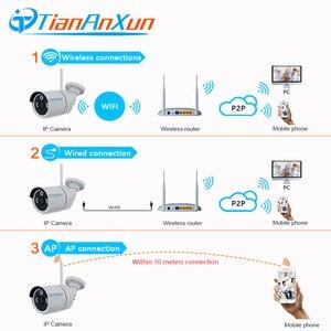 Image 4 - Tiananxun caméra de Surveillance extérieure IP wifi/1080P/720P, dispositif de sécurité domestique sans fil, avec enregistrement Audio et SD