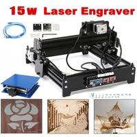 Engraving Area 14 x 20cm 15W Laser AS 5 USB Desktop 15000mW CNC Laser Engraver DIY Marking Machine For Metal Stone Wood