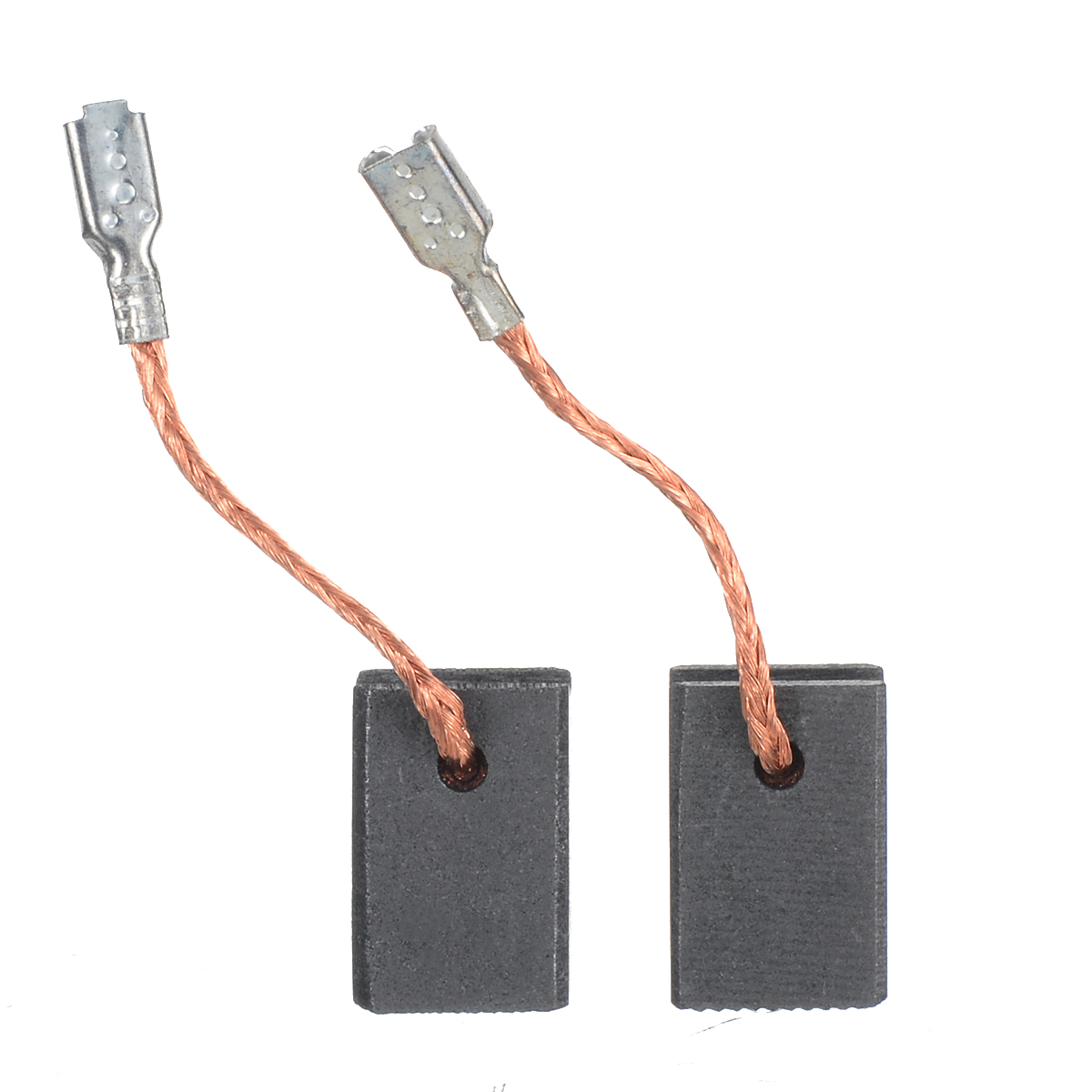 1Pair Motor Carbon Brushes GWS14-150 Carbon Brush 5x10x17mm For Bosch 125CI 15-150CIH 10-125 GOP12CE For Power Tools Accessories