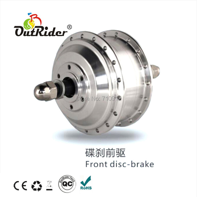 FreeShipping 36V 250W Front 128 Disc-Brake Gear Motor Ebike/E-scooter/Pedelec KIT with 3 Pin Water-proof wire 160-260rpmOR01B2