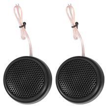 car speakers som automotivo 1 Pair Car Dome Tweeter Speakers 98dB 100W Super Power Audio Loudspeakers parlantes para auto