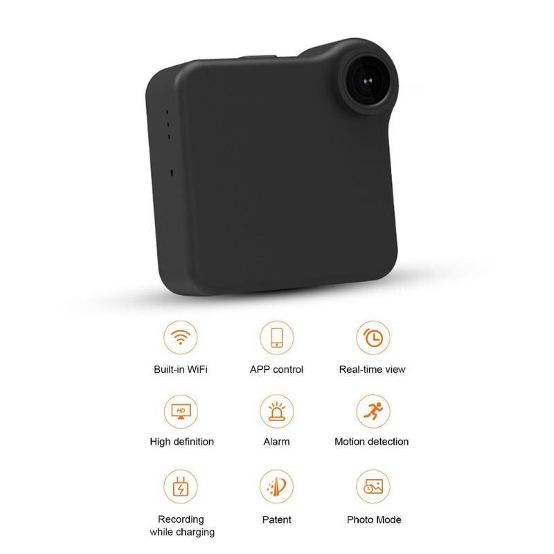 C1 720 P Sans Fil de Sécurité À Domicile IP Mini Caméra IR Nuit Vision Baby Monitor Action Cam Vélo Caméra Mini DV caméra Vidéo Enregistreur