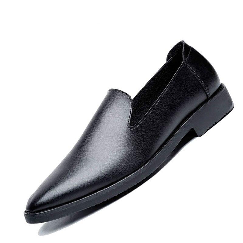Black Dos Sapatas Vestido Luxo Casamento Sapatos Formais Oxford Couro De Homens wvtqaHw