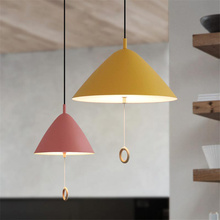 Nordic Led Iron Pendant Lights Simple Restaurant  Room Bedroom Luminaire Pendant Lamp  Kitchen Fixtures Hanging Lamp nordic planet pendant lights led hanging lamp colorful hang lamp for living room bedroom kitchen light fixtures decor luminaire
