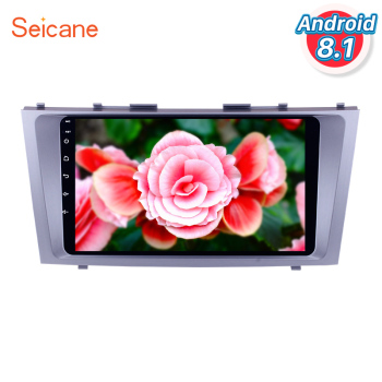 Seicane Android 8.1 9 inch 1024*600 touchscreen for 2007 2008 2009 2010 2011 TOYOTA CAMRY Radio with Aftermarket GPS Car Stereo