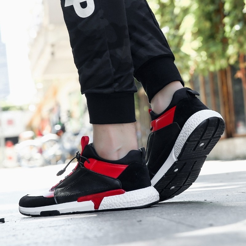 Confortable Casual De Krasovki Hommes Chaussures Masculino Qualité Sneakers Respirant Élégant Zapatillas À Noir Mâle Haute Imperméable L'eau rouge Marque IY6Ytwq