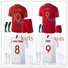 33e70ce86 quality 2018 world cup Portugueses home away Soccer Jersey 18 19 Ronaldo  adult Football shirt kids