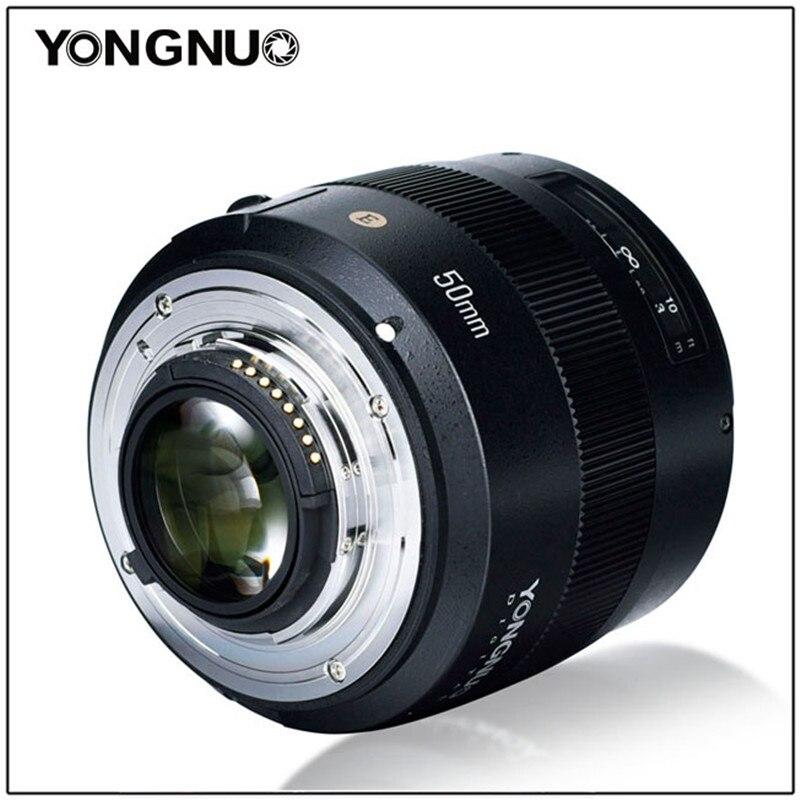 Image 4 - YONGNUO YN50mm F1.4N E Standard Prime Lens 50mm F1.4 Large Aperture For Nikon D5 D4 D3 D810 D800 D750 D300 D7100 D7000 D5600 etcCamera Lens   -