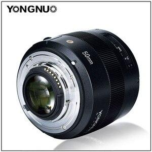 Image 4 - YONGNUO YN50mm F1.4N E Standard di Primo Obiettivo 50mm F1.4 Grande Apertura Per Nikon D5 D4 D3 D810 D800 D750 d300 D7100 D7000 D5600 ecc