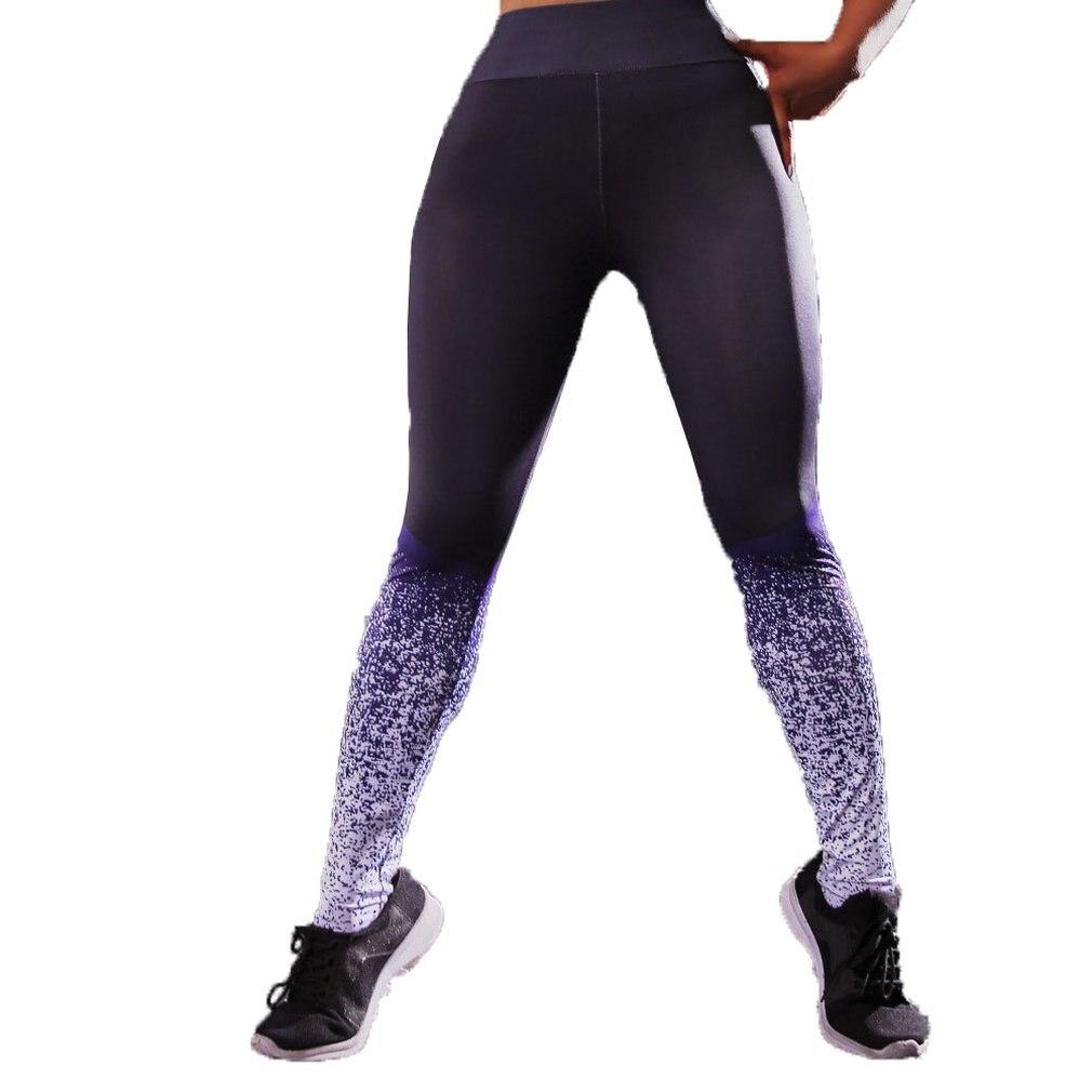 2019 Neuer Stil Vier-stich Und Sechs-gewinde Hosen Digitaldruck Geometrische Yoga Unterhose Quick-trocknen Körper-gebäude Unterwäsche