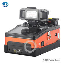 Hot sale Fiber Optic Fusion Splicer A-81S Orange Fully Automatic Fusion Splicer Machine(China)