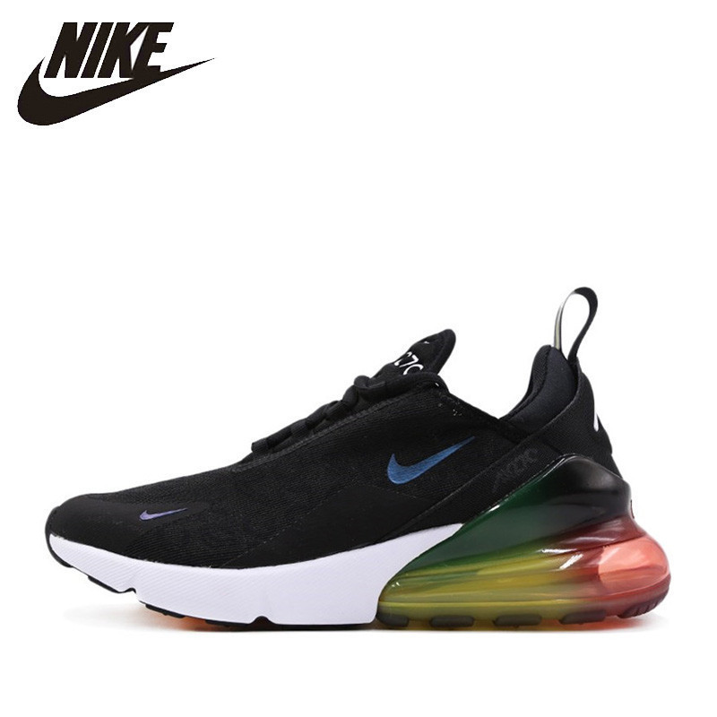 a69c280595 Nike Official Air Max 270 Men Running Shoes Outdoor Sports Comfortable  Non-slip Breathable Sports