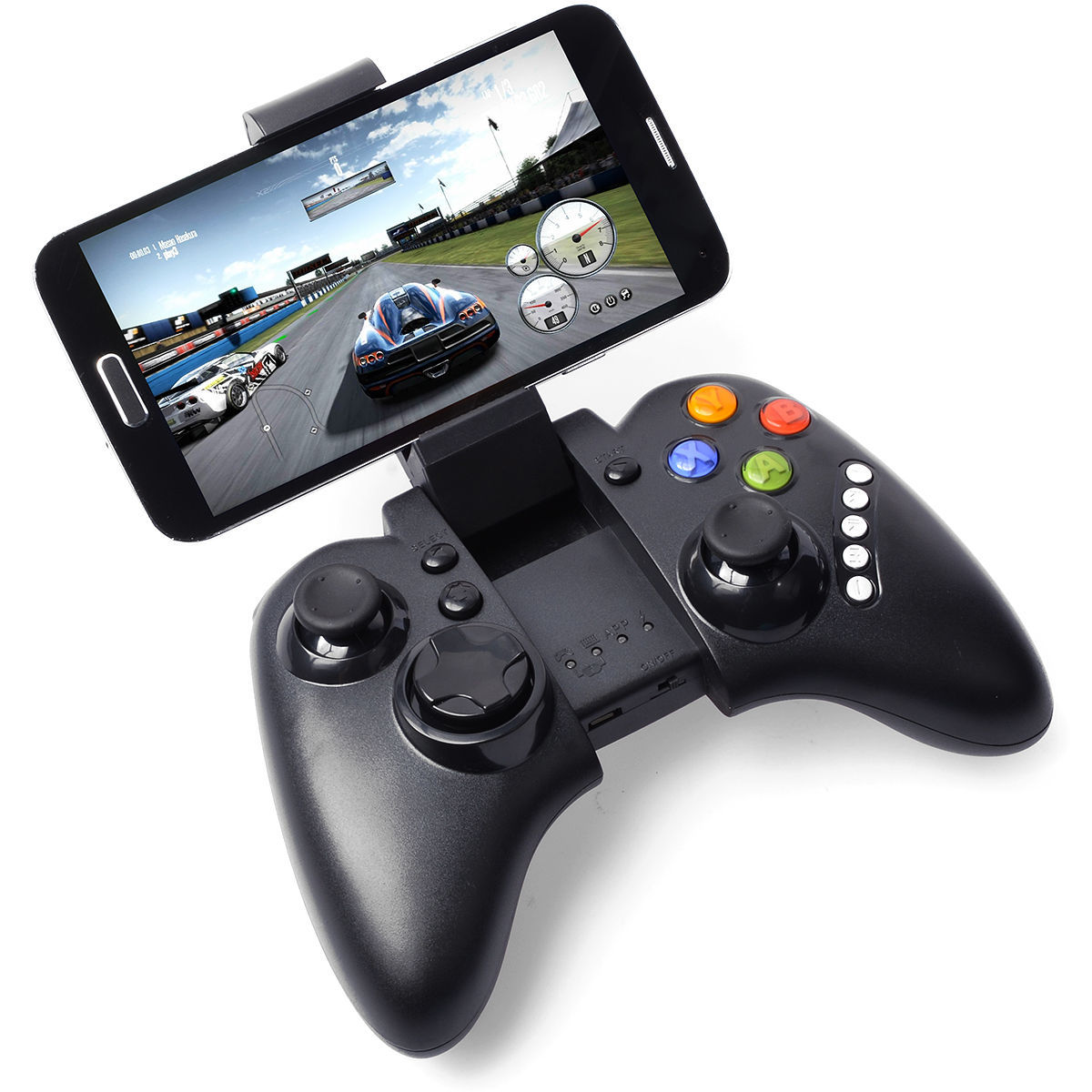 US $49 99 |Cdragon gamepad with holder for mobile phone Bluetooth game  console Android wireless set top box-in Gamepads from Consumer Electronics  on
