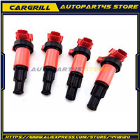 4pcs Ignition Coil Pack S13 180SX S14 200SX SR20DET Engine 22448 50F01 For Silvia