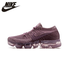 Nike Air VaporMax Flyknit Original New Arrival Women Breathable Running Shoes Sports Sneakers #849557 nike air vapormax original new arrival authentic flyknit men s running shoes sneakers sport outdoor good quality ah9046