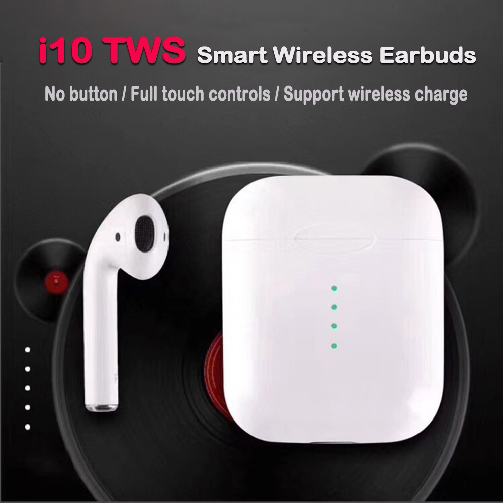 Good quality and cheap new i10 tws wireless earphone touch