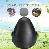 2019 умные электрические воздушные очищающие маски, маска для лица на рабочем месте, Анти-пыль PM2.5/дымка/пыльца загрязнения с HEPA фильтром, спор...