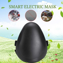 2019 Smart Electric Air Purifying Masks Workplace Face Mask Anti Dust PM2.5/Haze/Pollen Pollution with HEPA Filter Sport Masks
