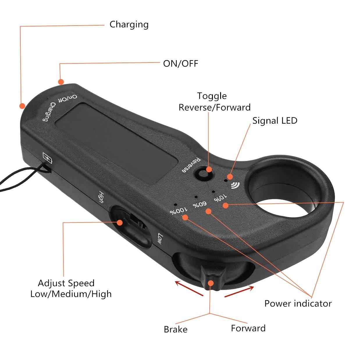 Contrôleur de planche à roulettes électrique 24 V/36 V Longboard à distance double moteurs ESC pièces de rechange accessoires de planche à roulettes Scooters - 6