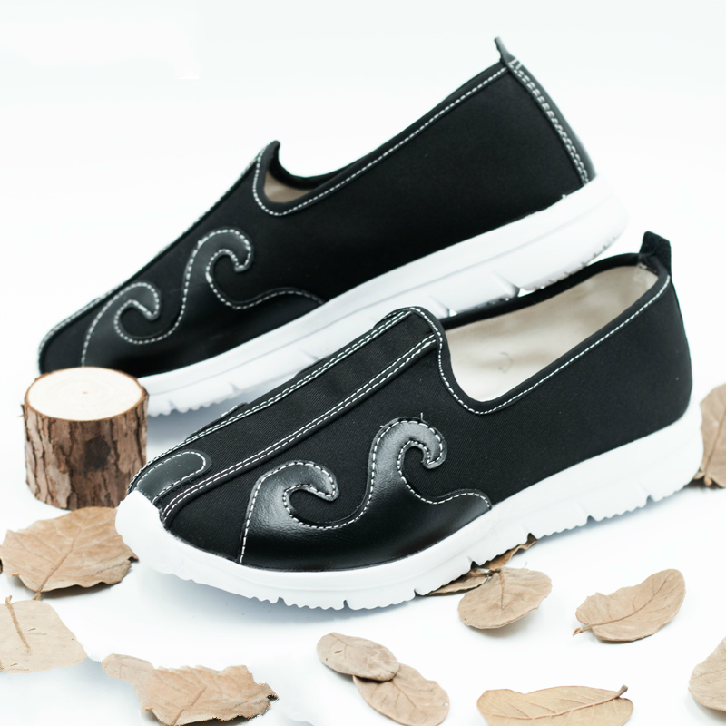 Cotten Breathable Taoist Shoes Chinese Traditions Footwear Tai Chi Shoes  Kung Fu Wushu Shoes 35-45