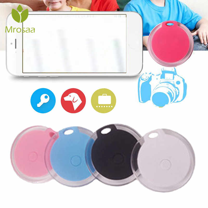 Portrait bluetooth 4.0 Mini Pet Finder GPS Locator tracker สัตว์เลี้ยง Anti Lost Tracker Smart Finder Tracer สำหรับแมวสุนัขเด็ก