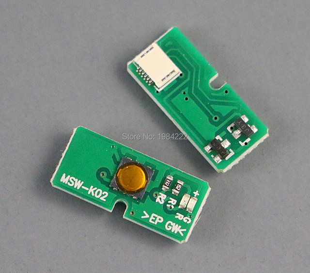 15 pçs/lote para ps3 4000 modelo pech 4000 super magro botão de ligar/desligar placa interruptor MSW K02