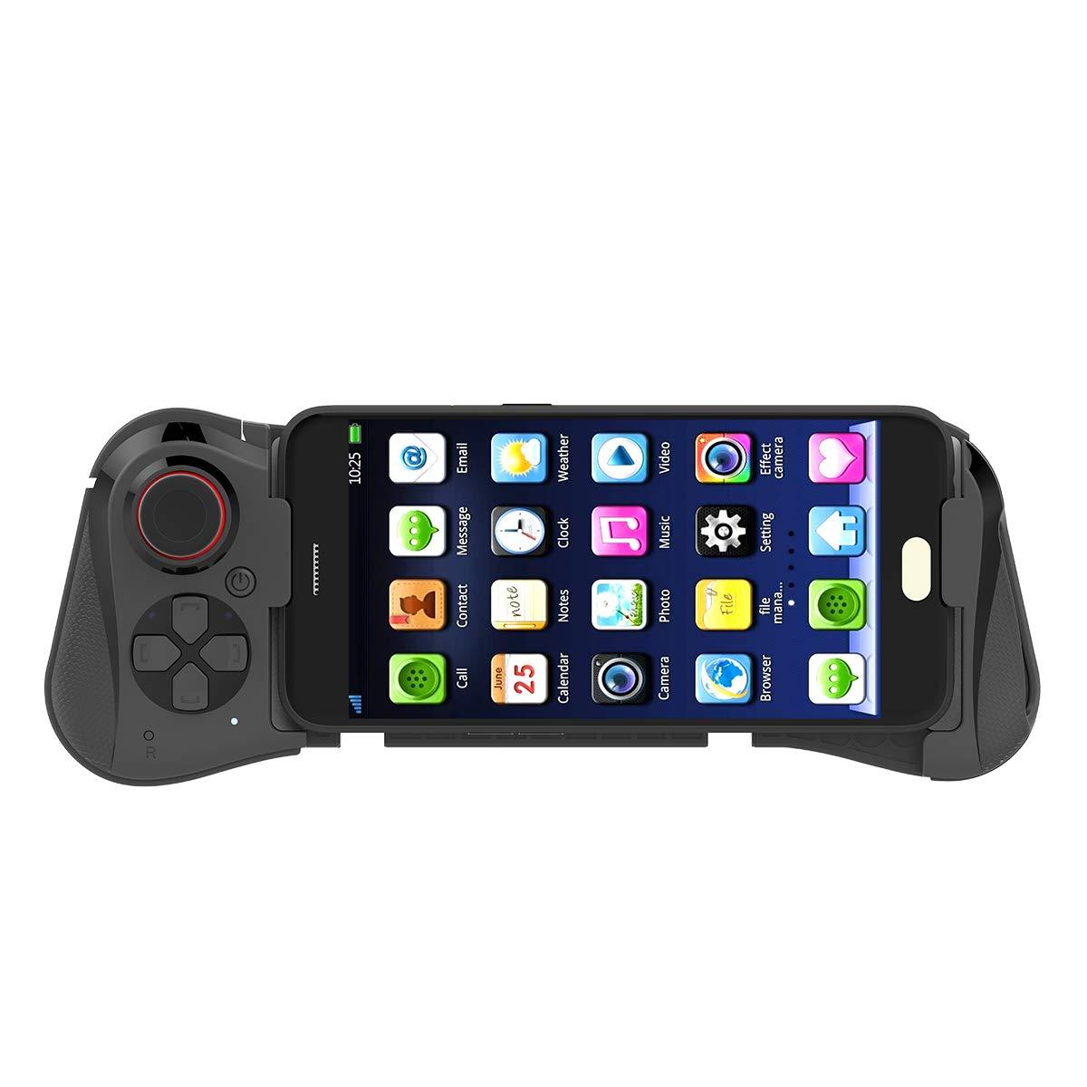 Mocute 058 inalámbrico Bluetooth Gamepad controlador de juegos para Samsung Android Teléfono Pubg juego telescópico Joystick Zigbee rgb led luz de vela aplicación de control inteligente trabajo con puerta de enlace 3,0 smartthings 4w rgbw blanco cálido blanco fresco LED e12 e14 tapy