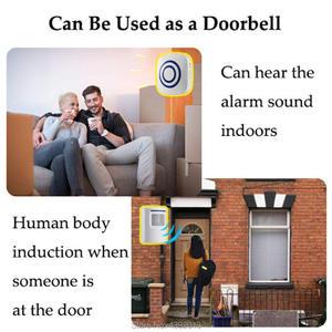 Image 3 - Motion Sensor Alarm, Wireless Alarm Systems Security Home Kits, Segurida Motion Sensor Detect Alert 2 Sensor and 1 Receiver