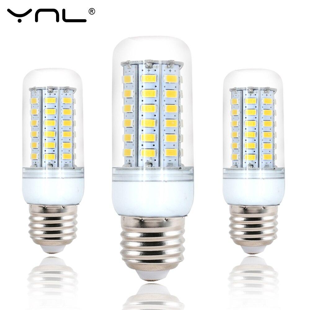 E27 Led Light Lamp Bulb 220V 24 38 48 56 69 72 96 Leds SMD 5730 Bombillas Ampoule Lampada Bulbs Focos  Led E27 Lamps Home Light