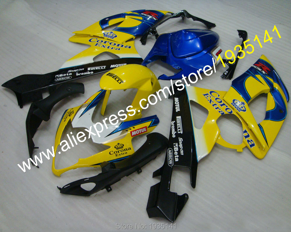 Hot Sales,For Suzuki GSXR1000 2005 2006 K5 Parts GSX R1000 05 06 GSXR 1000 Corona Extra Motorcycle Fairings (Injection molding)