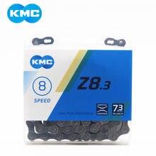 Kmc z8.3 corrente 8 velocidade da bicicleta de montanha corrente original z8 mtb bicicleta estrada 116l correntes